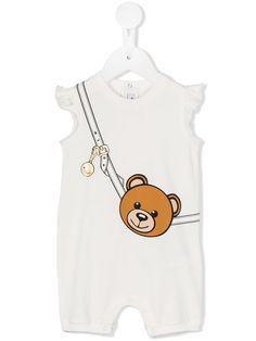 Shop Baby Rompers from the best designer brands at Farfetch. Find hundreds of luxurious kidswear labels, all in one place. Best Designer Brands, Baby Design, Moschino, Kids Room, All In One, Kids Fashion, Teddy Bear, Rompers, How To Wear