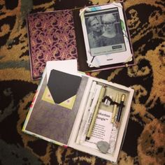 Stx: Wife, Mom, Friend, Crafty Lady: DIY Book Look 3 (A how to for a secret craft travel kit)