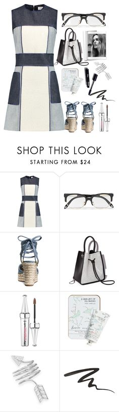 """""""Dresses"""" by grinevagh ❤ liked on Polyvore featuring dVb Victoria Beckham, Victoria Beckham, MICHAEL Michael Kors, 3.1 Phillip Lim, Benefit, Library of Flowers, BillyTheTree and Anna Sui"""