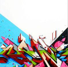 "Graffiti Art By ""Does"" #graffiti #ironlak #art"