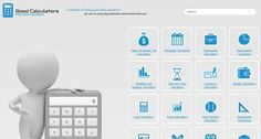 www.goodcalculators.com: This website provides a variety of online calculators, math and physics, engineering and conversion calculators.  http://www.goodcalculators.com