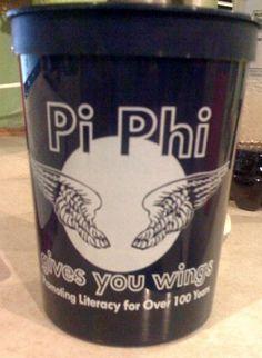 Pi Phi gives you wings #piphi #pibetaphi