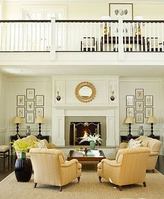 I want a living room with two sofas... dream big!