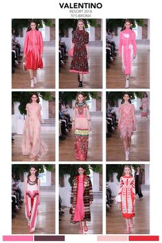 """VALENTINO 2018 collection """"70's Bronx""""The runway show was set in New York, NY. The collection, sporty and streetwise but influenced from the 70's in New York and the hip-hop culture in the Bronx. T"""