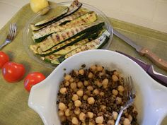 Grilled Zucchini - Keeps in fridge for several days for salads, my bites or in frittatas, tortilla pizzas, my pasta-less manicotti, etc.