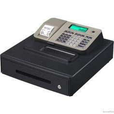 Casio Se-S100 Electronic Cash Register Black/Gold