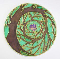 Tree of Enlightenment Mandala art tree of life art spiritual art meditation art MADE TO ORDER, via Etsy. Mary Ann Holley