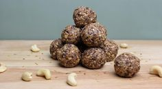 Protein balls are a great snack alternative, perfect for making as a batch to eat through the week. The slow release energy will keep you feeling satiated.