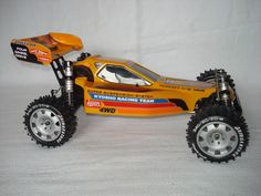 Kyosho Turbo Optima Mid SE This is the only model I own that uses Marwan's reproduction tires.