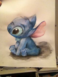 Stitch. This is adorable.