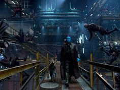 Guardians of the Galaxy (2017) - Yondu, Rocket and Groot. Image via Marvel Studios/ USA Today