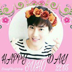 HAPPY SUHO DAY  SUHO BIRTHDAY  JUNMYEON  EXO