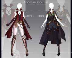 [CLOSED-Auction] Adoptable outfit by Eggperon on DeviantArt Fashion Design Drawings, Fashion Sketches, Anime Outfits, Cool Outfits, Super Hero Outfits, Drawing Anime Clothes, Hero Costumes, Fantasy Dress, Fantasy Outfits
