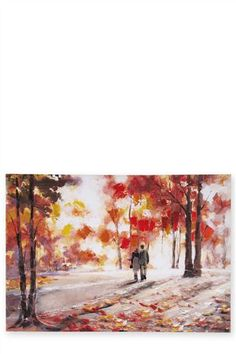 Buy Autumn Walk Canvas from the Next UK online shop The Next, Next Uk, Autumn Walks, Uk Online, Pretty Little, Decorative Accessories, Wall Art, Canvas, Stuff To Buy