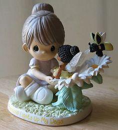 Precious Moments OUR FRIENDSHIP LIGHTS UP MY DAYS Disney Fairies Magic Figurine
