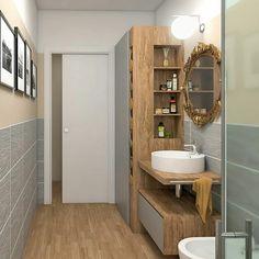 Casa Milano, New Homes, Vanity, Storage, Bathrooms, Home Decor, Instagram, Houses, Apartment Bathroom Design