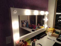 Faça você mesmo: Espelho de camarim