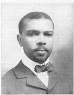 Aged around 30 at the time of this photo, James Weldon Johnson had already written Lift Ev'ry Voice and Sing and been admitted to the Florida bar.
