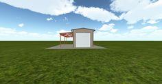 Cool 3D #marketing http://ift.tt/2q1fVze #barn #workshop #greenhouse #garage #roofing #DIY