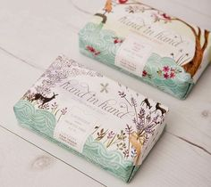 Hand Hand Packaging by Emma Block