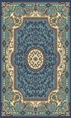 Traditional Area Rug, Concord Collection, 5'x8' Blue Persian Weavers http://www.amazon.com/dp/B0009W1F8U/ref=cm_sw_r_pi_dp_zrVVvb1VJ8R9Y