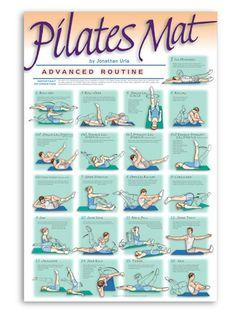 pilates advanced mat