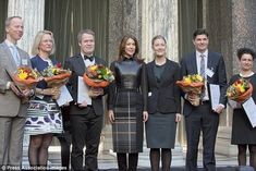 Official:On the same day she handed out the Danish Research Award at the Glyptoteket to five Danish scientists