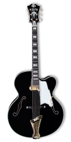 LACEY Black Virtuoso Archtop