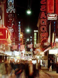 Movidita la noche de Buenos Aires, la que nunca duerme, Argentina