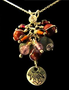 Healing Necklace for Crohn's Disease/Ulcerative Colitis...