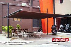toldo plano malla sombra ideal para terrazas #toldosmallasombra #tensoestructuras #eclipsecubiertas