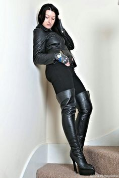 """Amateur on steps in black leather jacket jeans thigh boots Everyone loves girls in stockings and underwear. Our <a href=""""https://www.pornotuta.com/"""">girls in stockings</a> are looking very cool!   girls in stockings short skirts   girls in stockings underwear   girls in stockings sexy lingerie   girls in stockings mistress"""