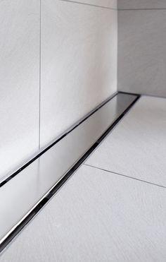 Edelstahl-Duschrinne ACO ShowerDrain E-line Design, Home Technology, Stainless Steel, Bathing, Design Comics