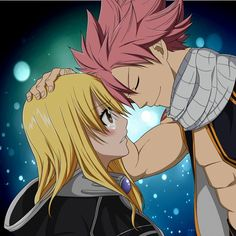 FAIRY TAIL, possibly my new favorite power couple. I really want to see things happen between these two