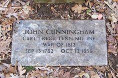 John Cunningham, II (1781 - 1858) - Find A Grave Photos