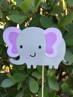 Pieza central se pega elefante  Set de 5  Baby por HappyVidaDesigns