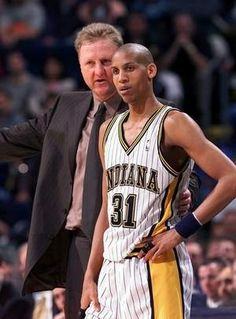 Indiana Pacers president of basketball operations Larry Bird recalls Reggie Miller's work ethic being his most outstanding quality.
