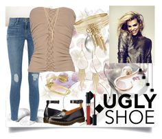 """""""Styling with an ugly shoe"""" by jeneric2015 ❤ liked on Polyvore featuring Designers Guild, Frame, Plein Sud, Dr. Martens, CC SKYE, BCBGeneration, Christian Dior, Ryan Storer, Allurez and uglyshoes"""