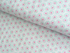 Flower Sugar Fall 2014 Floral Collection  sweet flower print in light aqua