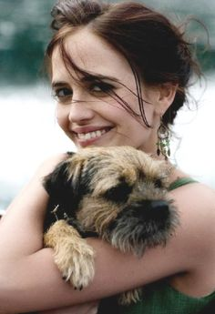 Eva Green and Griffin - I knew I liked her for a reason!