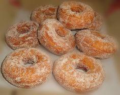 Heavenly Cinnamon Rings... Doughnuts, Bagel, Heavenly, Cinnamon, Bread, Rings, Food, Canela, Brot