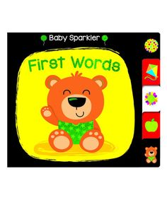 Barron's Educational Books Baby Sparkler: First Words Board Book Word Board, Board Book, Spark Up, Circle Time, Toddler Books, One Word, Sparklers, Love Story, Little Ones
