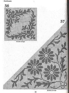 101 Filet Crochet Charts 38   Flickr - Photo Sharing!