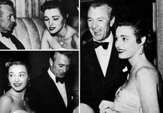 Patricia Neal and Gary Cooper | jimmy stewart gary with ingrid bergman gary and patricia neal