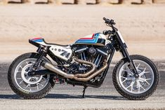 Great Sportster Tracker from Roland Sands.