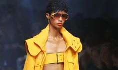Fasten your boob belts! Eight trends from London fashion week