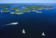 Archipelago - Stockholm - The Local Stockholm Archipelago, Gothenburg Sweden, Travel Pictures, Denmark, Fresh Water, Norway, Tourism, Places To Visit, Islands