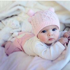 Un bébé tout rose