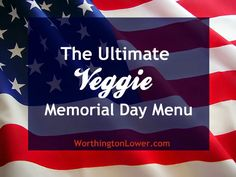 vegan memorial day menu