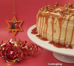 Cooking: Bolo de caramelo e canela...e Feliz Natal!